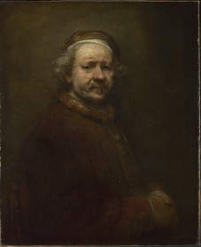Self Portrait at the Age of 63 (1669), The National Gallery © The National Gallery, London